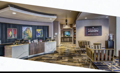Cambria Suites interior